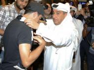 Xavi chegou ao Qatar
