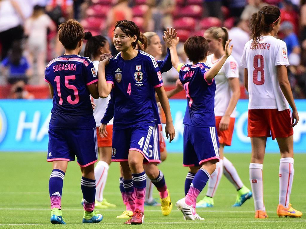 Mundial Feminino: Japão-Suiça (Reuters)