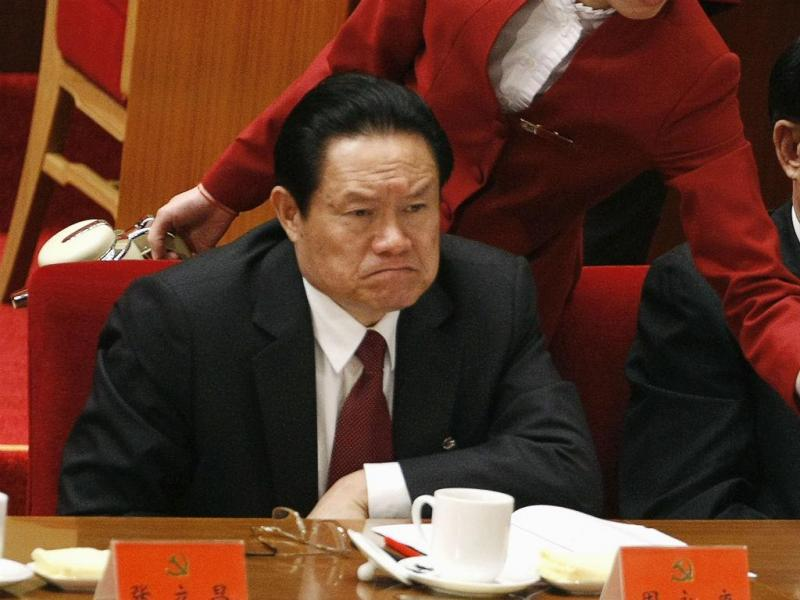 Zhou Yongkang (Jason Lee/Reuters)