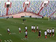 Treino da Seleção na Geórgia (Lusa)