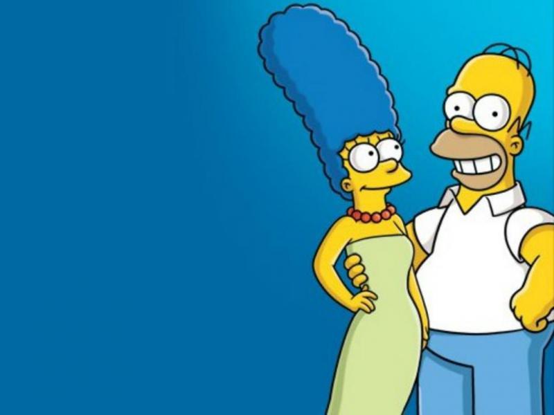 Homer e Marge Simpson [Twitter]