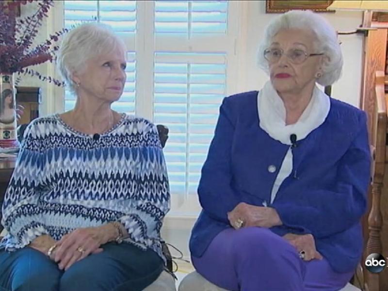 Muriel Clayton e Mary Smith (Reprodução/ABC News)