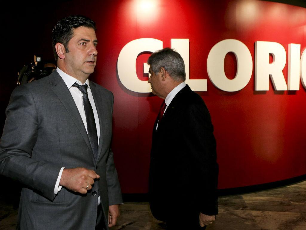 Rui Vitória apresentado no Benfica