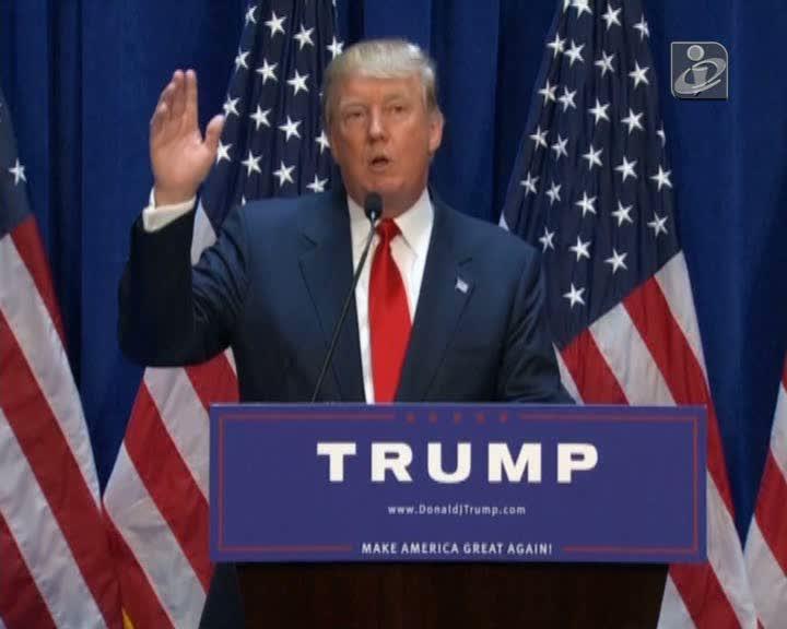 Donald Trump é candidato à Presidência dos EUA