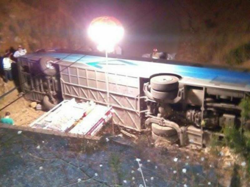 Capotamento de autocarro faz vários mortos e feridos no Algarve