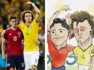 James e David Luiz