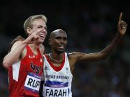 Galen Rupp e Mo Farah (Reuters)