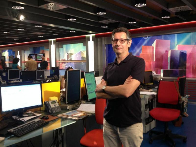 Paulo Almoster, Editor de Economia da TVI
