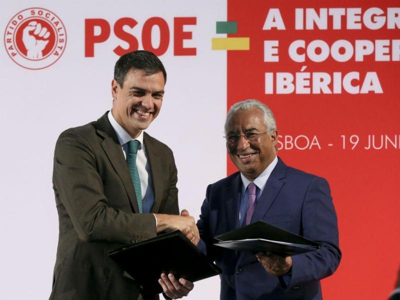 Pedro Sanchez e António Costa [Lusa]