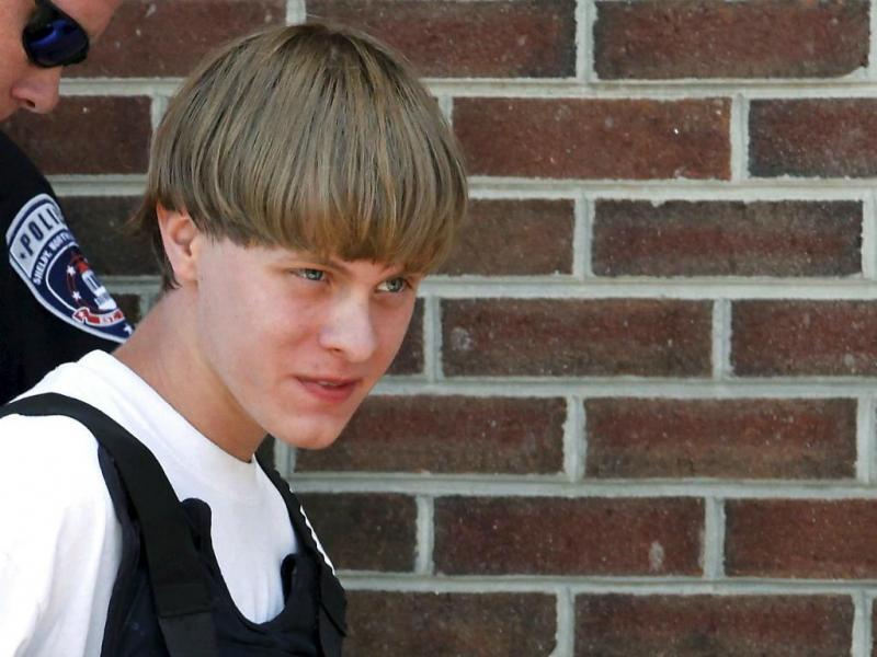 Dylann Roof, atirador que matou nove pessoas numa igreja em Charleston (Reuters)