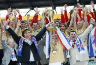 Tavriya Simferopol - Taça Ucrânia 2010 (Reuters)
