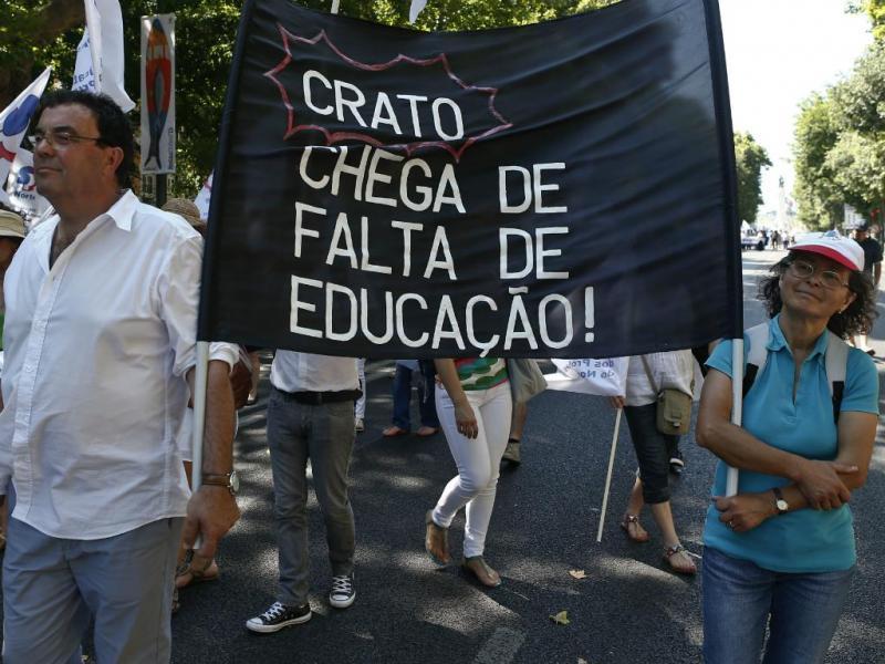 Professores manifestam-se nas ruas de Lisboa [Lusa]