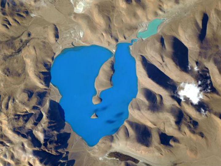 Lago Cuo Womo (Scott Kelly, Twitter)