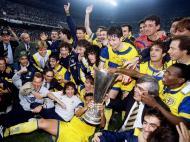 Parma ganha Taça UEFA 1994/95 (Reuters)