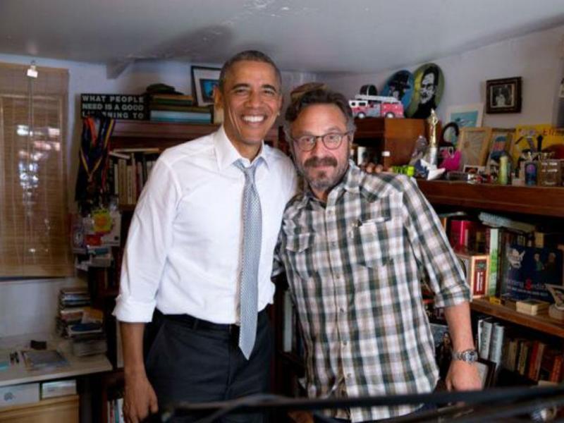 Obama dá entrevista a Marc Maron