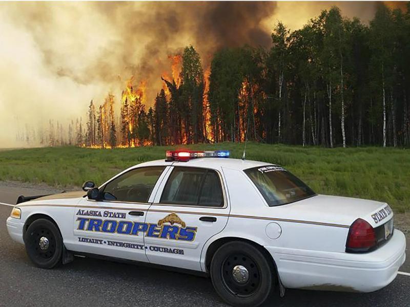 Polícia do Alasca [Reuters]