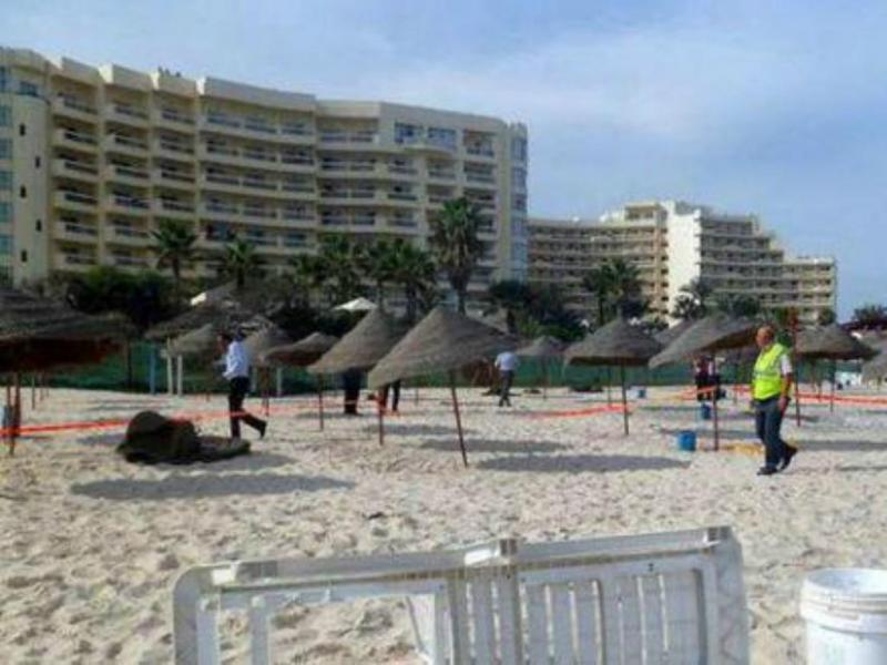 Ataque a hotel na Tunísia [Twitter]