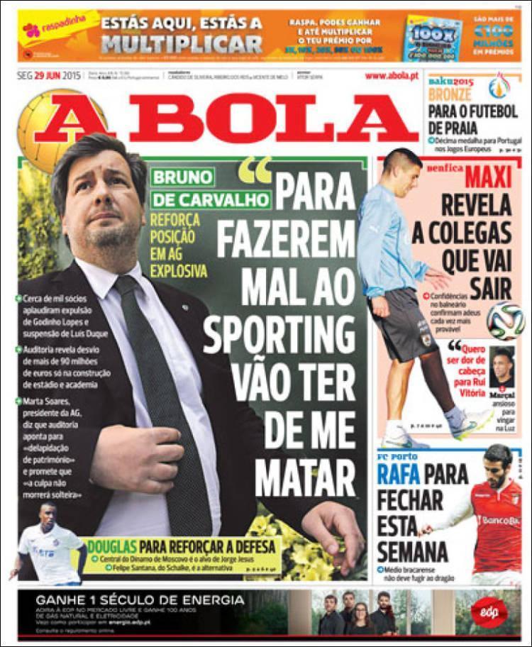 Quiosque: o mercado e o aviso de Bruno de Carvalho
