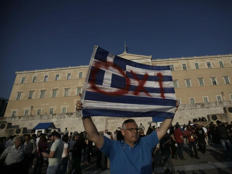 Manifestação na Grécia (Lusa)