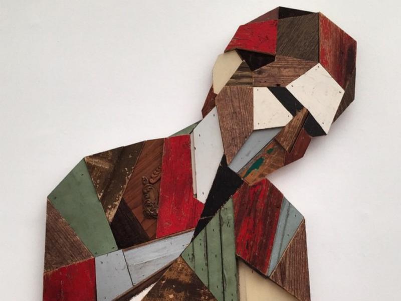 Artista faz da reciclagem uma expressão artística