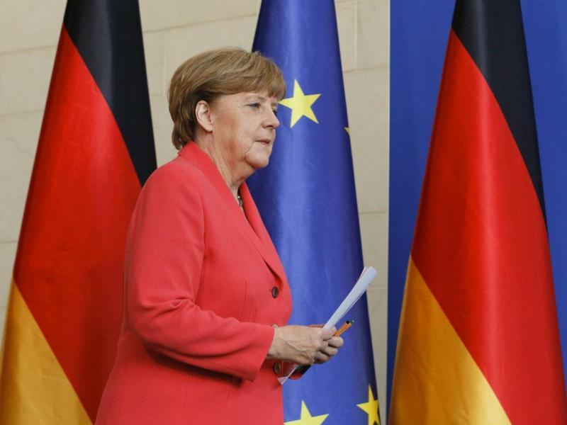 Angela Merkel [Reuters]