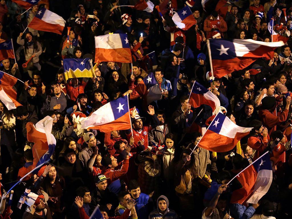 Copa América: Festa do Chile (LUSA)
