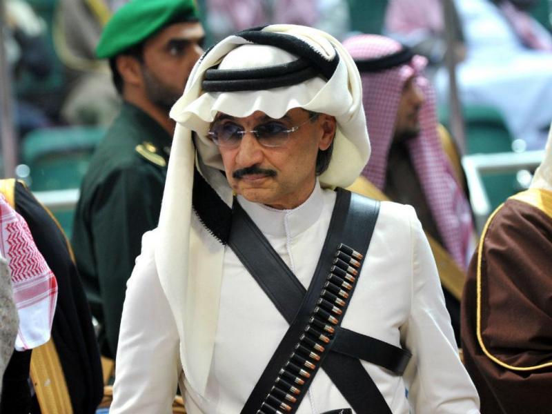 Princípe saudita Alwaleed bin Talal