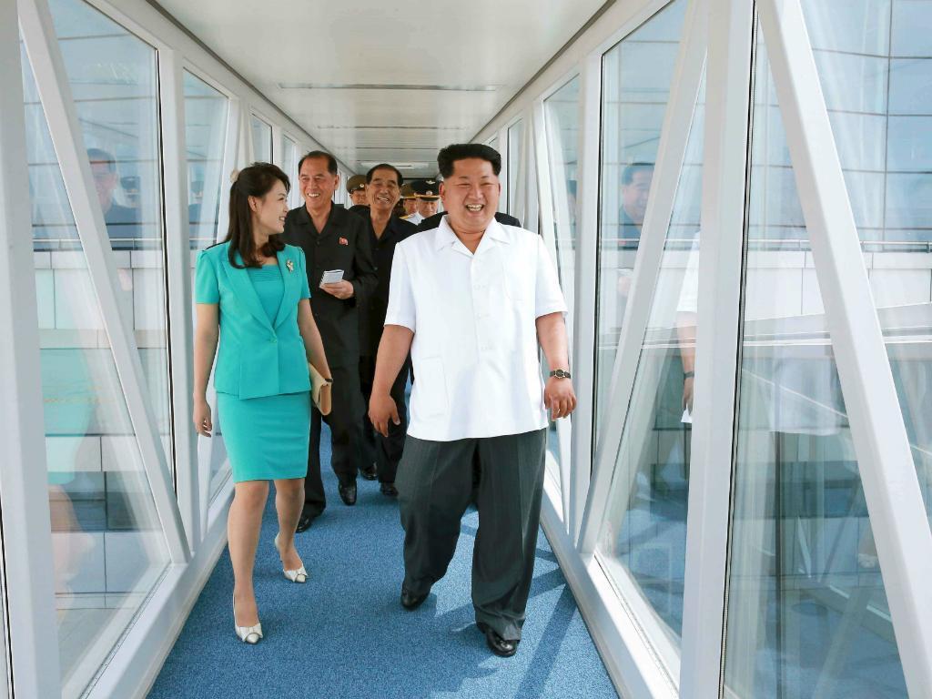 Novo terminal do aeroporto de Pyongyang, Coreia do Norte