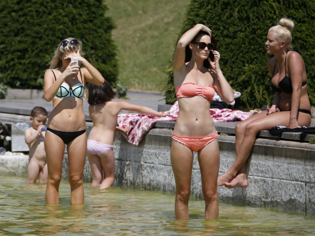 Onda de calor em países europeus
