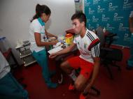 Teste médicos no Benfica (imagens Benfica)
