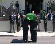 As imagens do último adeus a Eusébio