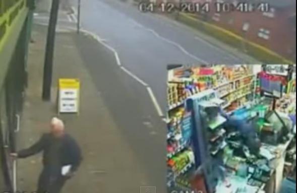 Dois idosos impedem assalto e predem ladrão dentro de loja