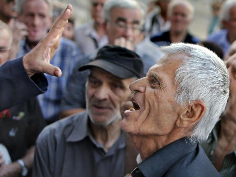 Pensionistas gregos [Reuters]