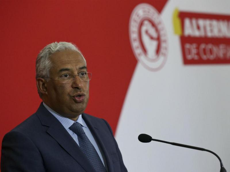 António Costa [Lusa]