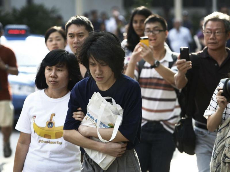 Amos Yee, de 16 anos, saiu em liberdade (Lusa/EPA)