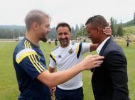 Nani e Vítor Pereira (foto: Fenerbahçe)
