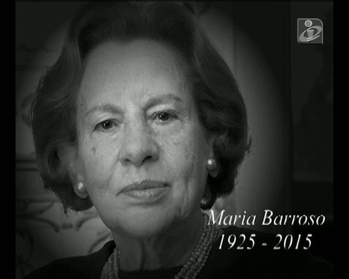 As últimas palavras de Maria Barroso para as novas gerações
