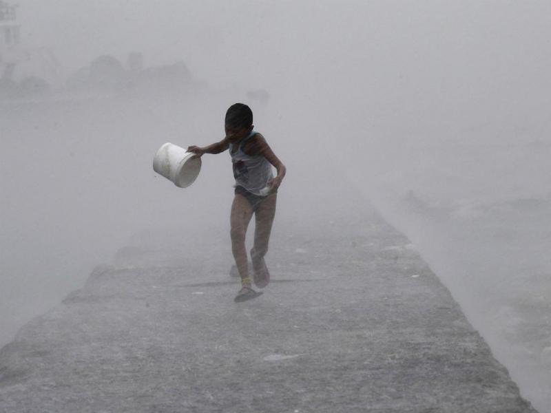 Tufão Linfa [Reuters]