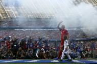 Robben na apresentação do Bayern Munique (Reuters)