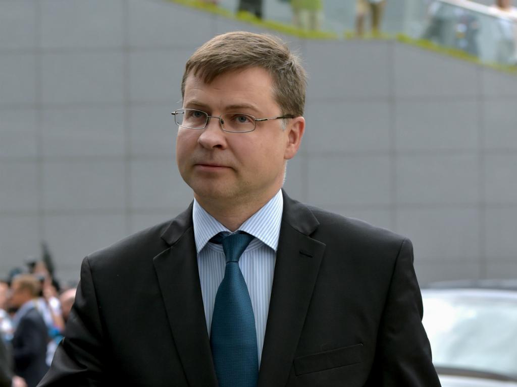 Valdis Dombrovskis [Reuters]