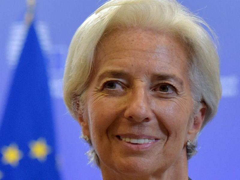 Christine Lagarde [Reuters]