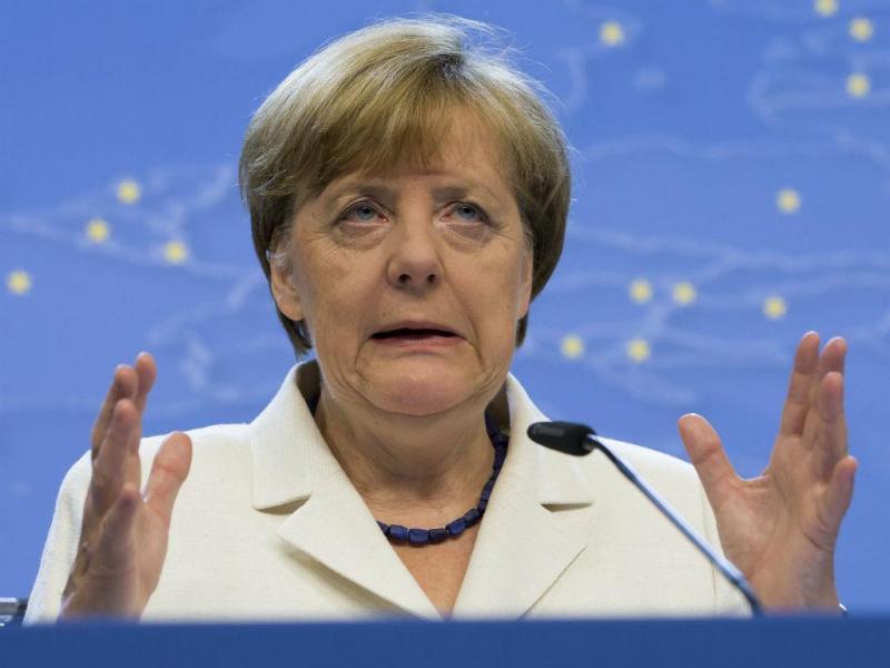 Angela Merkel [EPA]