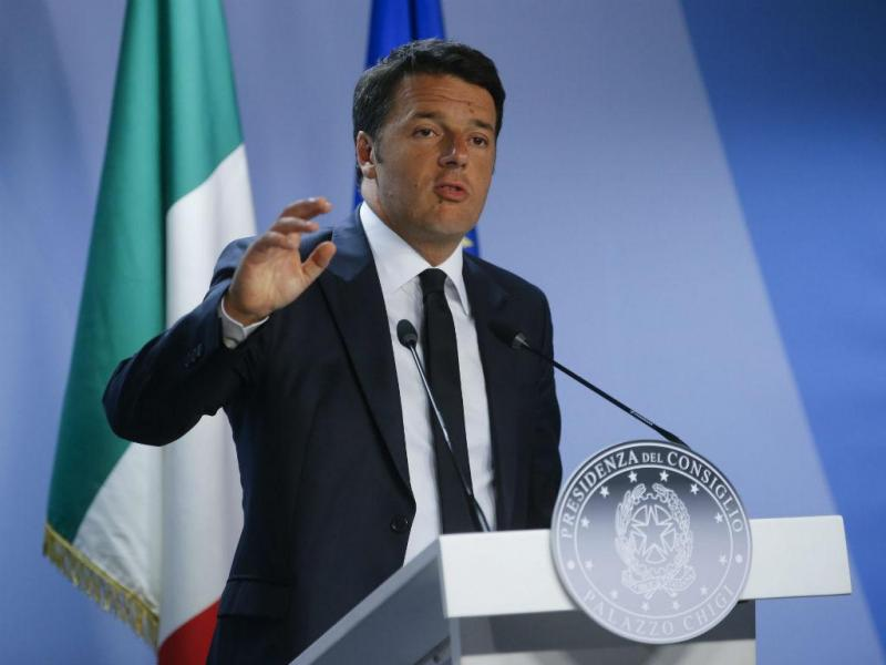 Matteo Renzi [EPA]