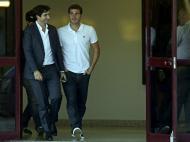 Iker Casillas já chegou ao Porto