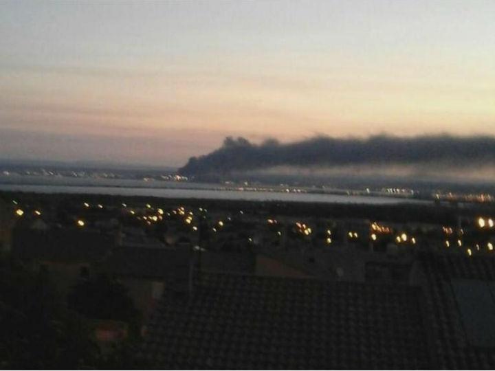 Explosões perto de Marselha (Twitter)