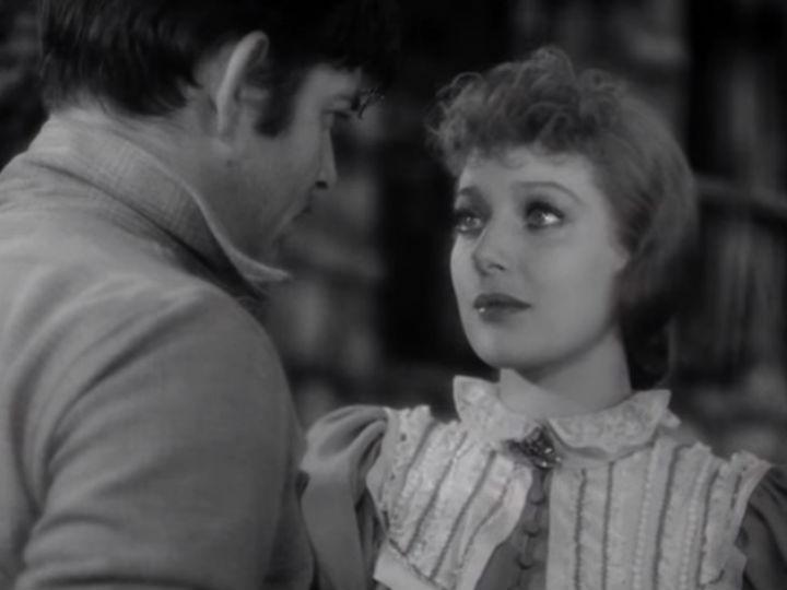 Loretta Young e Clark Gable [YouTube]