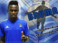 Bruma (site oficial da Real Sociedad)