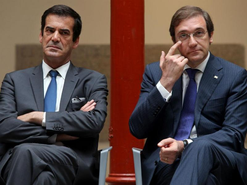 Passos Coelho e Rui Moreira (LUSA)