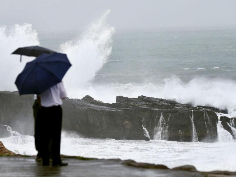 Tufão Nangka [Reuters]