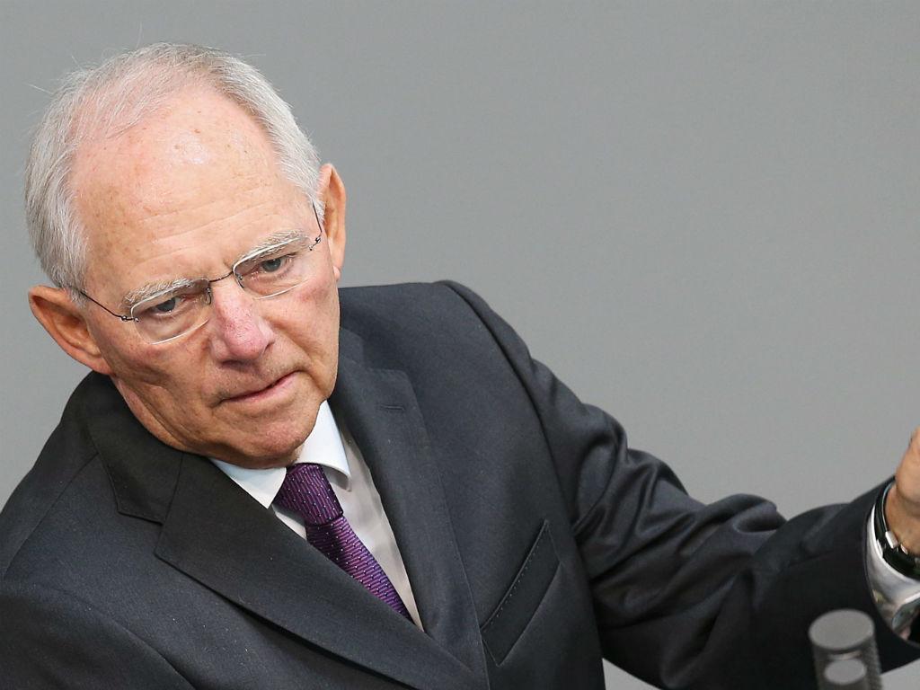 Wolfgang Schauble [EPA]